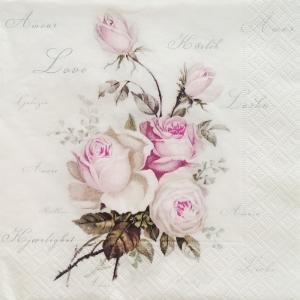 Servetel floral vintage