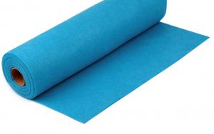 Rola fetru albastru deschis 1mm grosime