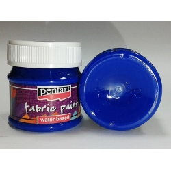 Vopsea textile albastru 50 ml