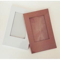 Rama carton alba (23.5x15x0.6 cm)