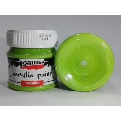 Vopsea acrilica verde deschis (50 ml)