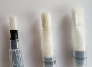 Set 3 pensule cu rezervor - Varf drept