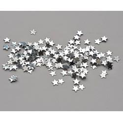 Glitter stelute argintii