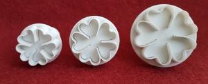 Set forme cutter cu 3 flori