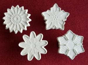 Set forme cutter cu 4 flori