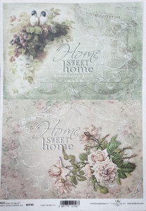 Hartie de orez A4 - Sweet home