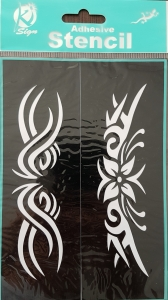 Sablon autoadeziv, modele decorative 2