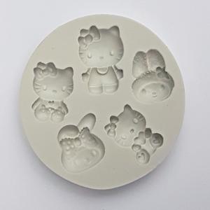 Mulaj din silicon Hello Kitty