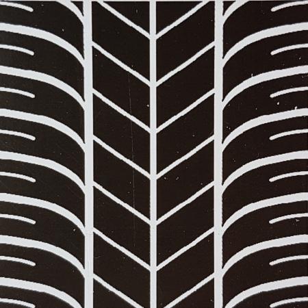 Foaie texturata - Cauciuc