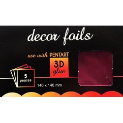 Folie decor metalizat magenta