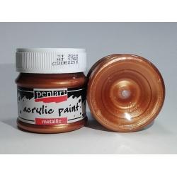 Vopsea acrilica bronz (50 ml)