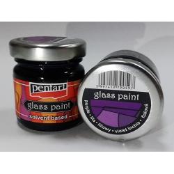 Vopsea sticla violet inchis
