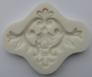 Mulaj din silicon, ornament baroc