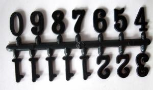 Cifre arabe din plastic pt ceas