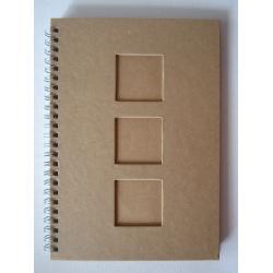 Notes 21.5 x 15 cm cu patrate