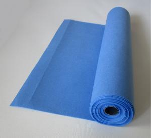 Rola fetru albastru country 1mm grosime