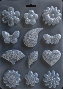 Decor flori fluturi