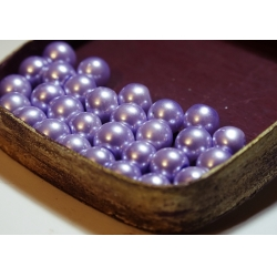 Perle 8 mm lila deschis