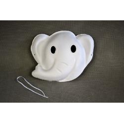 Masca din hartie reciclata presata elefant