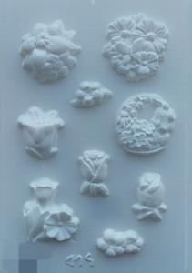 Forme pentru turnat ipsos flori