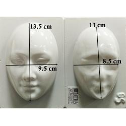 Masca doua parti 15 cm