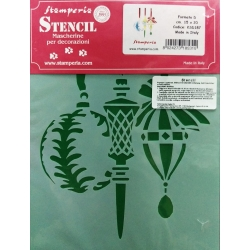 Sablon plastic flexibil - Globuri  15 x 20 cm