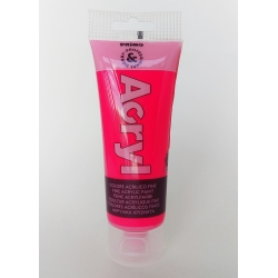 Vopsea acrilica fosforescenta 75 ml pink