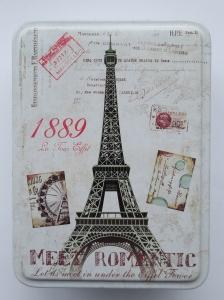 Cutie decorativa din metal, Turnul EIffel