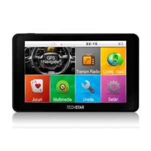 "GPS AUTO TECHSTAR GOTRACK 5"" HD"