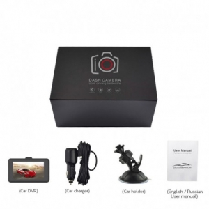 CAMERA VIDEO AUTO T619 FULLHD 3MP CU CARCASA METALICA SI DESIGN SLIM4