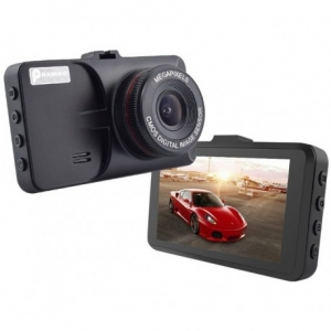 CAMERA VIDEO AUTO T619 FULLHD 3MP CU CARCASA METALICA SI DESIGN SLIM0