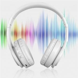 CASTI BLUETOOTH WIRELESS W802 ALB OVER EAR PLIABILE SPORT CU MICROFON INCORPORAT3