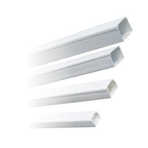 Canal cablu plastic 40x40 alb