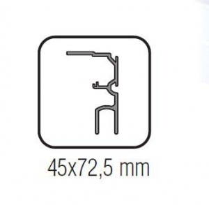 Profil parte fixa Standard EASY 80
