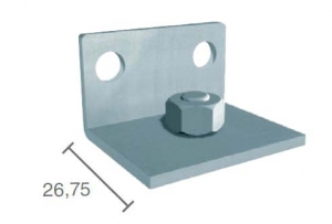 Coltar montaj pe perete profil glisare Standard EASY 80
