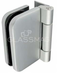 Balama usa sticla 8-10 mm Junior Office aluminiu eloxat
