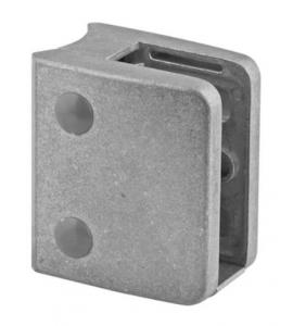 Clema MOD 24 fixare pe rotund pentru montant balustrada sticla 9,52-17,52 mm