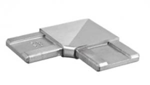 Imbinare orizontala 90° mana curenta rectangulara 40x10 mm