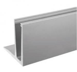 Profil U balustrada Easy Glass® Eco F cu talpa fixare pardoseala
