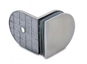 Conector 90° perete/sticla 8-10 mm