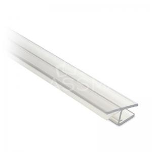 Garnitura rigida cu banda 180° usa sticla-panou fix sticla 10 mm, L= 2500 mm