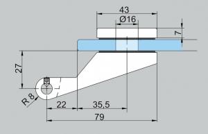 Balama aplicata Junior Office usa sticla 8-10 mm