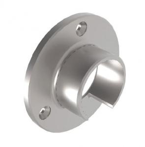 Conector perete mana curenta profilata Ø42,4 mm