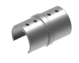 Imbinare 180° mana curenta profilata Ø42,4 mm