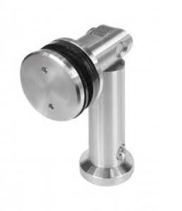 Conector unghi ajustabil perete/sticla 8-12 mm