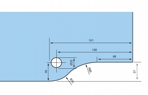 Balama dreapta supralumina RD-30