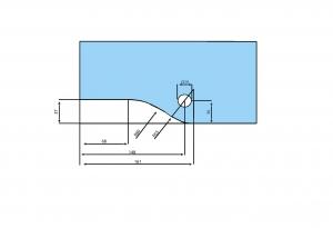 Balama superioara PT 20 - Dorma Universal Light
