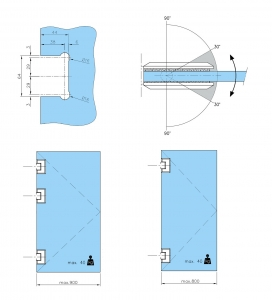 Balama sticla/sticla 180° usa batanta2