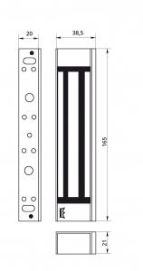 Broasca electromagnetica EM 1800 AH