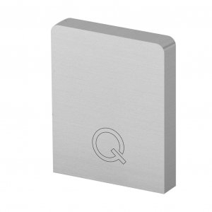 Capac capat profil U balustrada Easy Glass® Hybrid stanga-dreapta